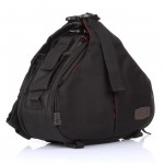 Caden K1 Waterproof DSLR Shoulder Camera Case Bag for Canon Nikon Sony Black