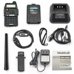 BaoFeng UV-5R Two Way Radio Kit, + USB Programming Cable