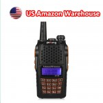 BaoFeng UV-6R Two-Way Radio, Dual Band UHF/VHF Ham 136-174/400-520MHz, Earphone Included