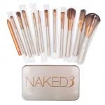 Pro 12 PCS Makeup Cosmetic Brush Set Powder Foundation Eyeshadow Lip Brush Tool