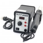 WEP AT858D 110V Hot Air Rework Soldering Station, Suitable For SMD, SOIC, CHIP, QFP, PLCC, BGA