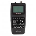 Satlink WS-6933 Satellite Finder Meter (Black)