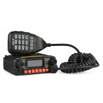 (Pre-sale)KT-8900R Tri Band 25W Car Mobile Radio 136-174/240-260/400-480MHz + Programming Cable