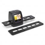 "SainSonic FS-02 2.3"" LCD USB Digital Film Scanner Negative Slide 35mm 5MP Black"
