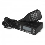 VV-898E DualBand VHF/UHF 136-174/400-470MHz Kit 5W/10W/25W Mobile Car Radio