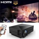 GM60 Home Cinema Theater Portable Mini LED LCD Projector 1080P HD HDMI AV USB VGA SD
