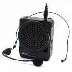 Aker MR1505 Voice Amplifier 12watts Black for Teachers, Coaches, Tour Guides, Presentations, Costumes etc