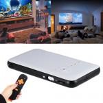 Mini LED DLP WIFI Bluetooth Pocket Projector Home Cinema HD 1080P USB TV BOX 8G