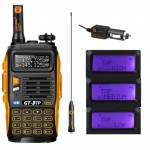 BaoFeng GT-3TP Mark III Two-Way Radio, Dual Band UHF/VHF 136-174/400-520MHz Tri-Power 1/4/8W