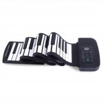 88 Key MIDI Flexible Silicone Electronic Roll Up Piano Pad PA88 for PC Computer