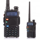 BaoFeng UV-5R Two-Way Radio, Dual Band UHF/VHF Ham 136-174/400-520MHz, Earphone included