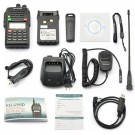 Wouxun KG-UV6D Kit 136-174/400-480MHz, + Remote Speaker, + Programming Cable