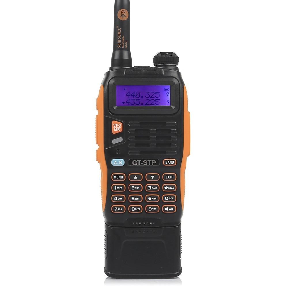BaoFeng GT-3TP Mark III Two-Way Radio+ 3800mAh Battery + Chip+Antenna+Car Charger