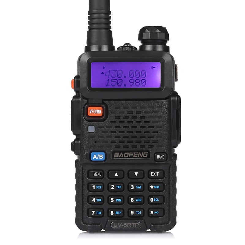 BaoFeng UV-5RTP Dual Band  Two-Way Radio Walkie Talkie
