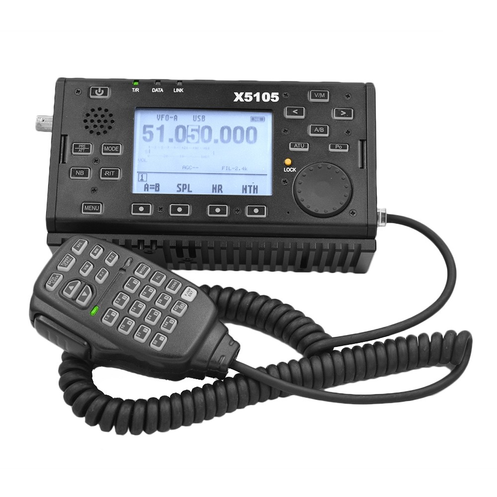 Xiegu X5105 OUTDOOR VERSION 0.5-30MHz 50-5MHz 5W 3800mAh HF Transceiver