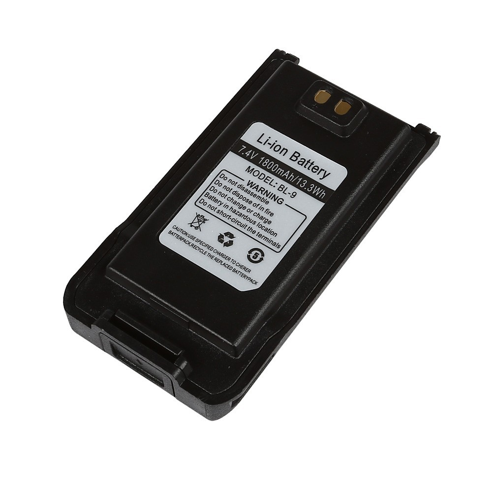 2016 Original Baofeng BF-9700 Battery Pack 1800mAh 7.4V Black