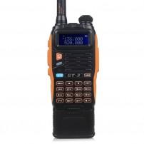 BaoFeng GT-3 Mark II Two-Way Radio, Dual Band UHF/VHF + 3800mAh Battery