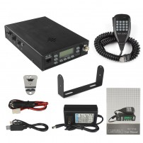 VV-898E Plus  Backpackable Portable Dual Band VHF/UHF 136-174/400-470MHz 25W Mobile Car Radio