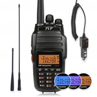 TYT UV8000E Dual Band Two-Way Radio, Walkie Talkie + 3600mAh Battery+ Car Charger + 2 Antennas+ Programming Cable