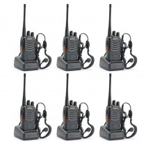 6pcs BaoFeng BF-888S Two Way Radio Walkie Talkie