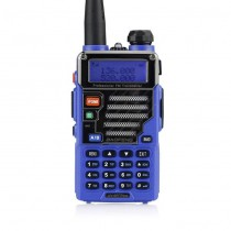 BaoFeng UV-5R Plus / UV-5R Two-way Radio Walkie Talkie Blue + Earphone