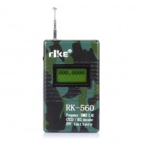 RK560 Frequency Counter 50MHz-2400MHz CTCSS/ DCS Decoder for Two-Way Radio