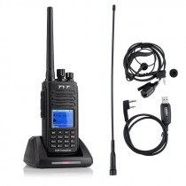 Tytera TYT MD-390 DMR Digital Waterproof Radio UHF 400-480MHz+ Programming Cable