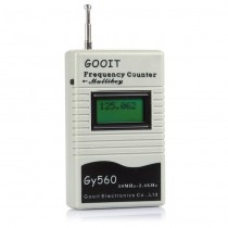 GY560 Digital LCD Frequency Counter 50MHz-2.4GHz for Two-Way Radio