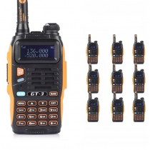 10pcs x BaoFeng GT-3 Mark II Dual Band UHF/VHF Two-Way Radio