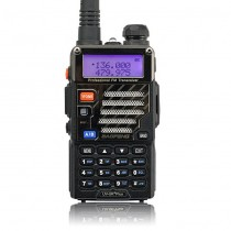 Baofeng *UV-5R Plus* Two way Radio Kit + Orginal Remote Speaker