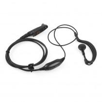 Radioddity Ear Bar Earpiece Mic PTT Headset for GD-55