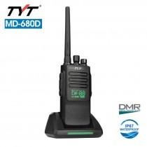 TYT MD-680 VHF 136-174MHz Digital Two Way DMR Radio Transceiver 10W 2200Mah