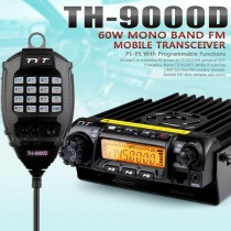 TYT TH-9000D 400-490MHz 60W 200CH Scrambler Car Mobile Radio Transceiver + Cable
