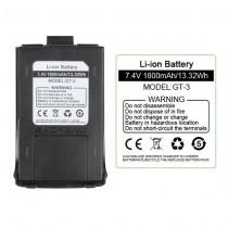 Original 1800mAh Li-ion Battery for Baofeng GT-3
