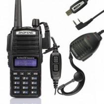 BaoFeng UV-82LKit 136-174/400-520MHz, + Programming Cable, + Remote Speaker