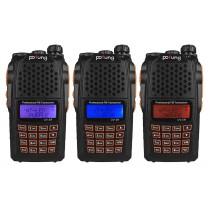 2pcs x BaoFeng UV-6R Kit 136-174/400-520MHz, + Programming Cable