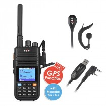TYT Upgraded MD-380G DMR Digital Radio, 136-174VHF with GPS Function!