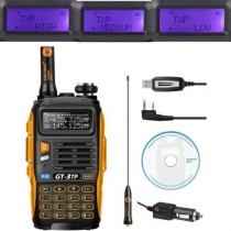 BaoFeng GT-3TP Mark III Two Way Radio + Programming Cable