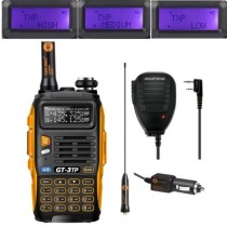 BaoFeng GT-3TP Mark III Twao way Radio + Orginal Remote Speaker
