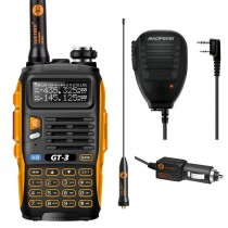BaoFeng GT-3 Mark II Kit  + Orginal Remote Speaker