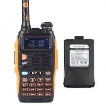 BaoFeng GT-3 Mark II Two way Radio + 1800mAh Battery