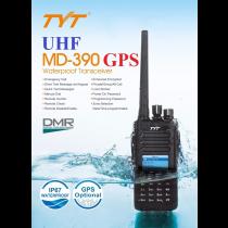 TYT MD-390G DMR Waterproof Digital Radio 400-480UHF + GPS