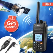 TYT Upgraded MD-380G 400-480 UHF DMR Digital Two way Radio, with GPS Function!