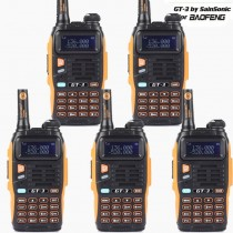 5pcs x BaoFeng GT-3 Mark II Dual Band UHF/VHF  Two-Way Radio