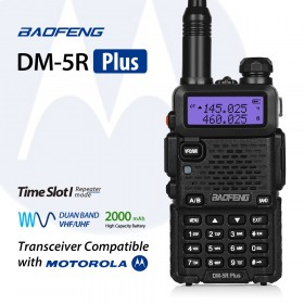Baofeng DM-5R Plus Dual Band DMR Digital Two-Way Radio Transceiver