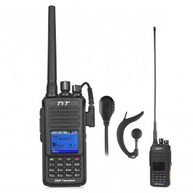 TYT MD-390G Waterproof DMR Digital Radio VHF 136-174MHz Two-Way Radio + GPS