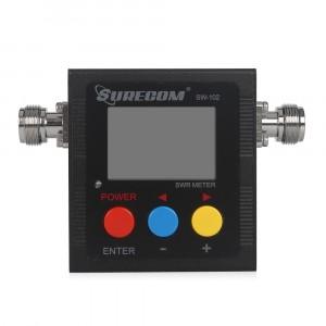 Surecom SW-102 V/UHF Digital Radioddity Antenna Power SWR Mobile Meter Power