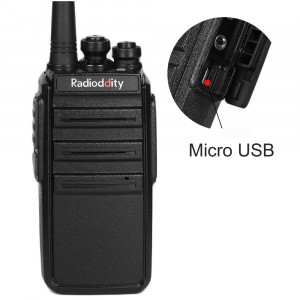 Radioddity GA-2S UHF 400-470MHz 16Channels VOX Squelch CTCSS/DCS Two way Radio